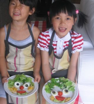 Children's day : what a wonderful occasion to introduce your kids to fresh and healthy cooking !