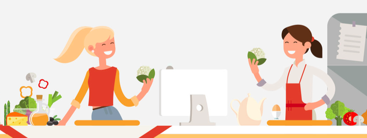 Online cooking classes for Ayis, really ?  But how does it work ?