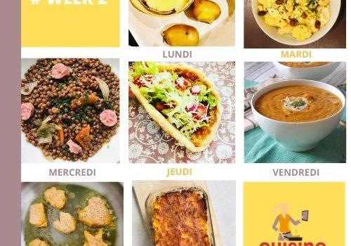 Meal planner 2 : la fin de l'hiver a sonné