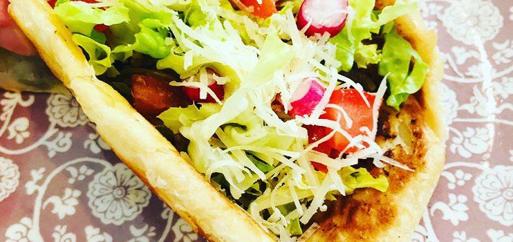 Mon burger façon Tacos ou l'art d'utiliser les restes
