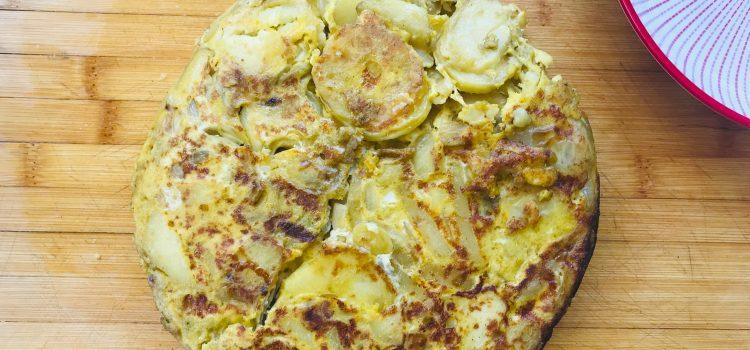 la Tortilla à quatre mains, une recette gourmande espagnole