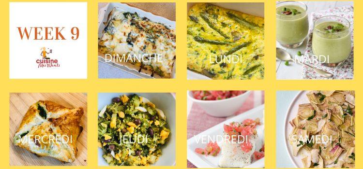 # week 9 : Green week, on met du vert dans nos assiettes ?