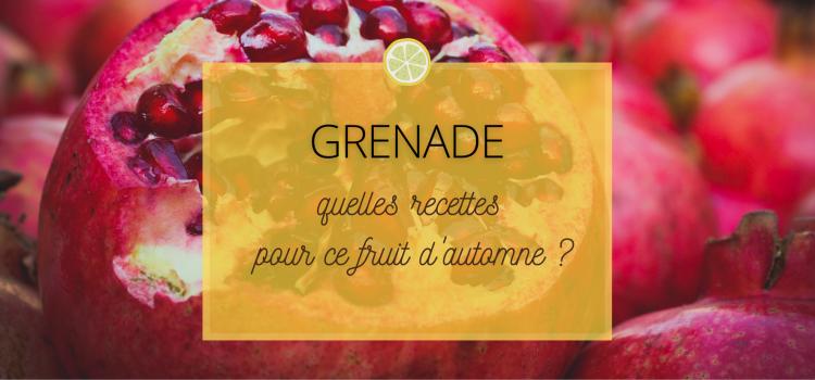 Grenade : quelles recettes pour ce fruit d'automne ?